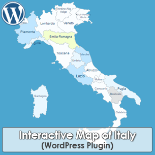 Interactive Map of Italy WordPress Plugin