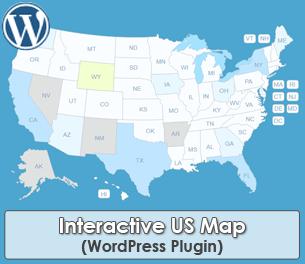 Interactive US Map WordPress Plugin
