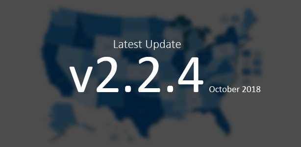 Last Update of the Interactive US Map WordPress Plugin