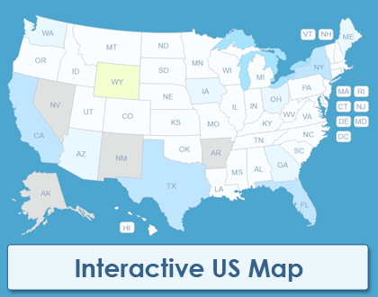 Interactive US Map