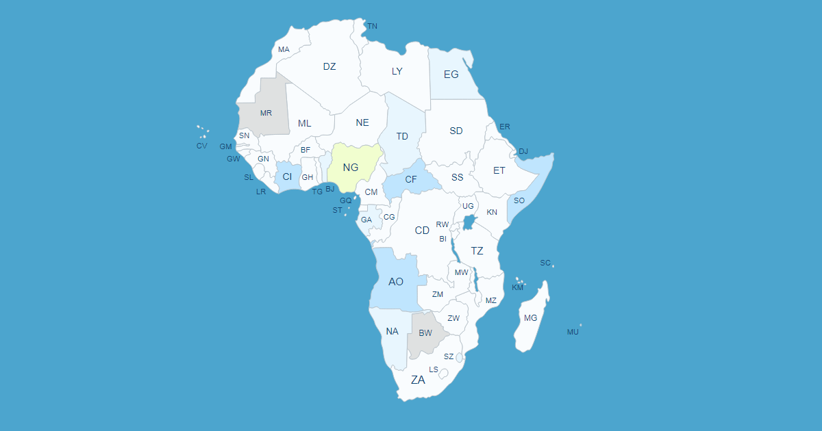 Interactive Africa Map Interactive Map of Africa [WordPress Plugin]