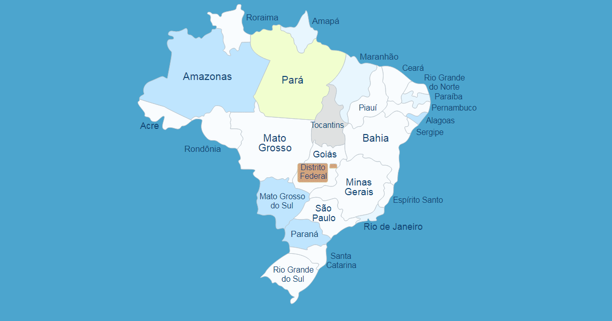 Interactive Map of Brazil [WordPress Plugin]