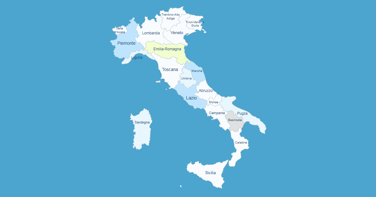Cartina Italia Cliccabile Wordpress.Mappa Interattiva Dell Italia Plugin Wordpress