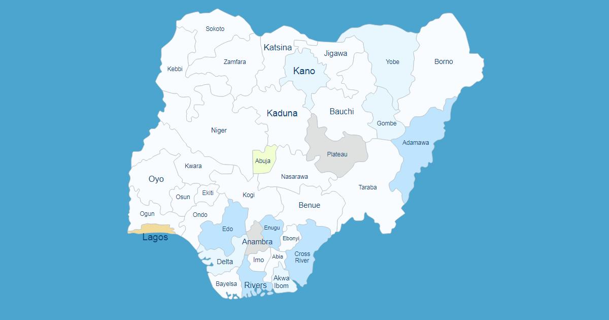 Interactive Map of Nigeria [WordPress Plugin] on syria map, madagascar map, mali map, sri lanka map, sudan map, niger map, ghana map, mauritius map, cuba map, usa map, senegal map, rwanda map, african states map, malawi map, russia map, liberia map, egypt map, new zealand map, afghanistan map, algeria map, mozambique map, ethiopia map, great britain map, gulf of guinea map, tunisia map, port harcourt map, namibia map, burkina faso map, global map, kenya map, angola map, morocco map, africa map, india map, benin map, libya map,