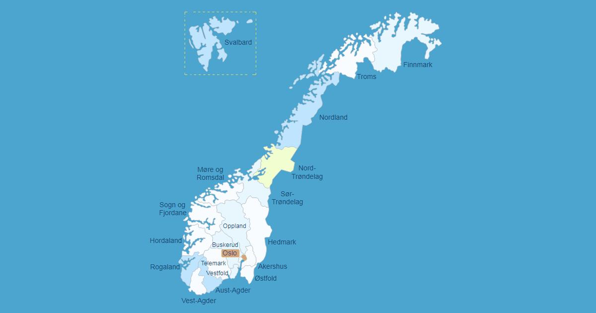 Interactive Map Of Norway Wordpress Plugin