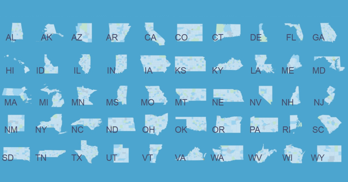 50 Individual US State Maps [WordPress Plugins]
